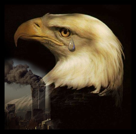trade center eagle tears