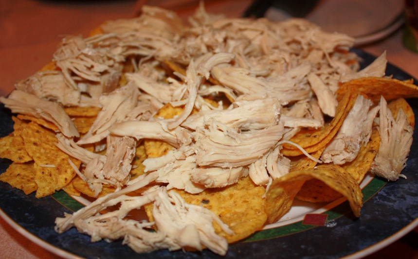 Chicken Nacho's B.C. (Before Cheese)