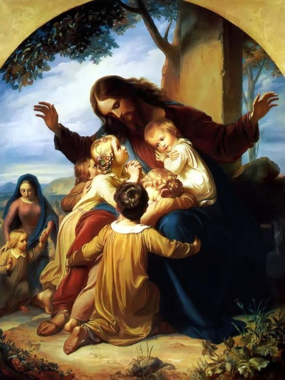 Let the children come to me  Carl Vogel von Vogelstein, 1805