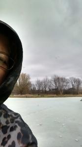 Selfie at North Park - Stop #1 on the Tour de Parks.