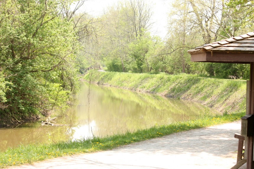 The Ohio & Erie Canal
