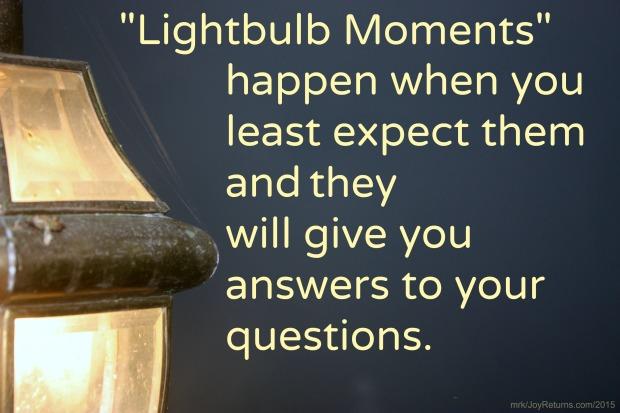 Lightbulb Moments 2