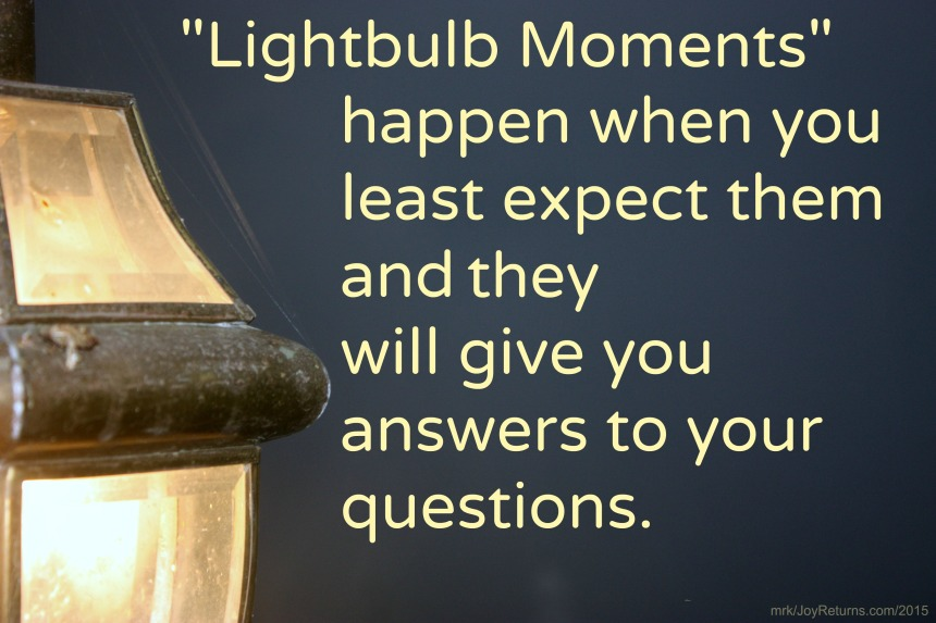 Lightbulb Moments 2