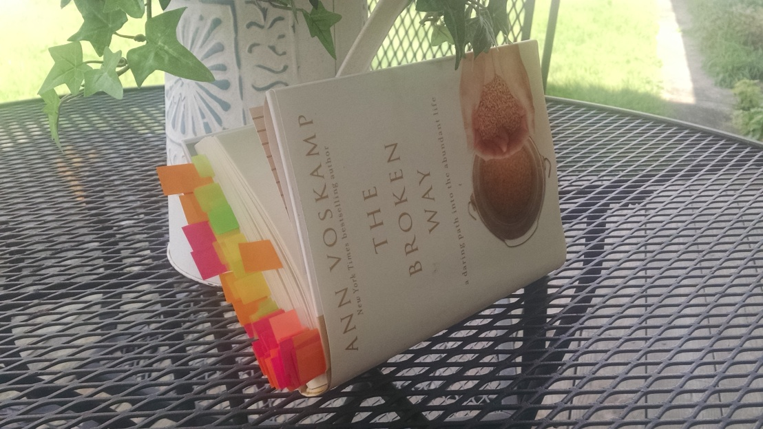 "What a Widow Needs to Read – ""The Broken Way"" by Ann Voskamp"